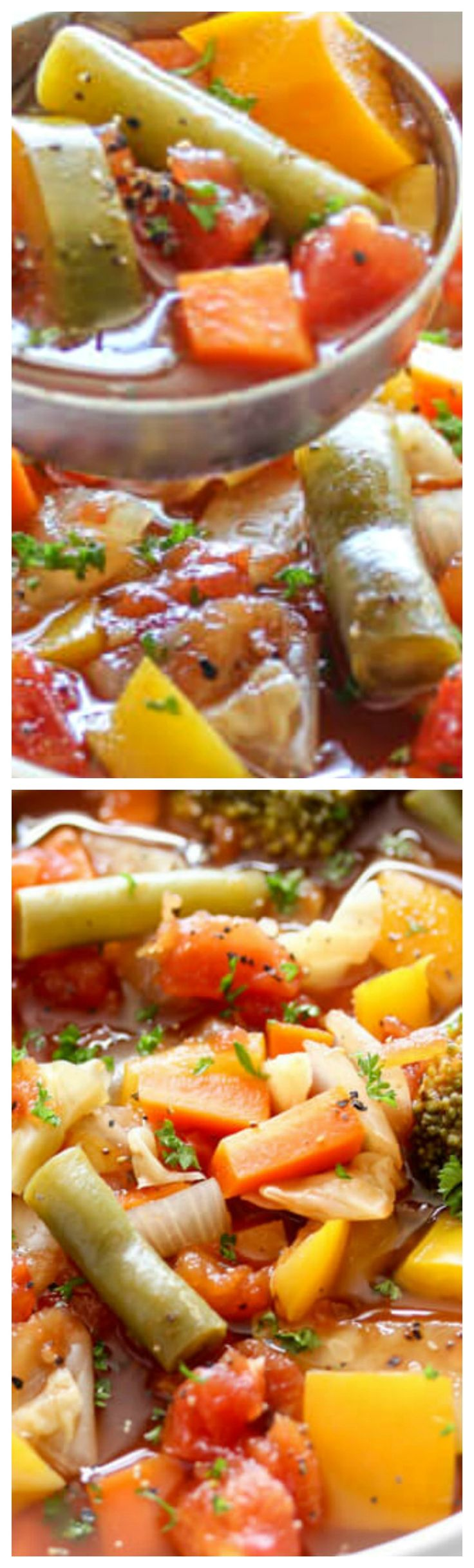 Weight Loss Vegetable Soup This Weight Loss Vegetable Soup Recipe is one of our favorites! Completely loaded with veggies and flavor and naturally low in fat and calories it's the perfect lunch, snack or starter!