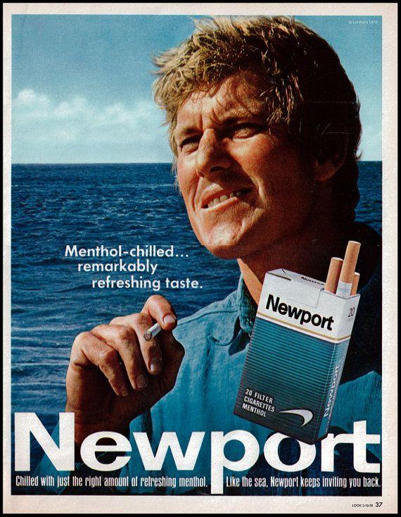 1970 Vintage Ad Newport Cigarettes Sea by DoubleLMomEphemera