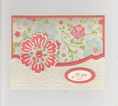 Stampin Up Mixed Bunch Set of 2 Handmade Cards
