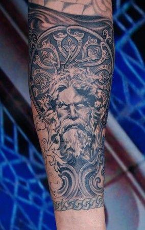Best 25 ares tattoo ideas on pinterest greek god tattoo for Neo pagan tattoos