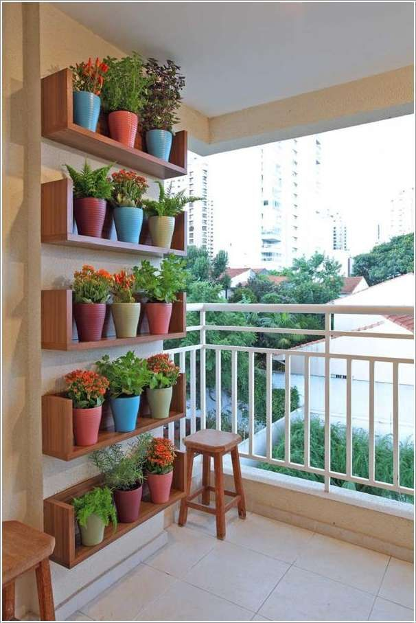 Vertical gardens are a great way of displaying your plants mostly on your walls. They are popular because of their space saving capacity and at the same ti