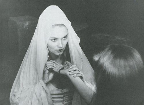 Alexandra Bastedo in The Blood Spattered Bride