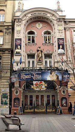 operett szinház budapest - Hledat Googlem