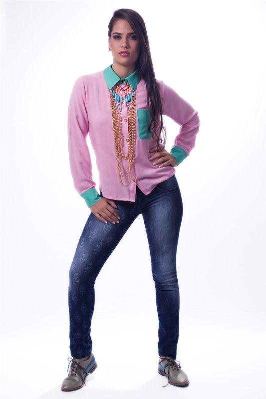 Blusa Ejecutiva Rosada $ 27.000 www.ropaalmadivina.com #almadivina #actual #accesorios #estilo #ejecutivo #ropa #tendencias #outfits #prendas #actual #almadivina #diseño #novedades #casual #chic #collar #moda  #zapatos #tacones #sandalias