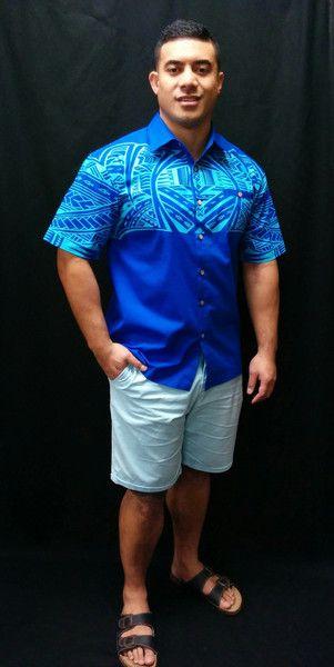 Silk Hawaiian Shirts For Men