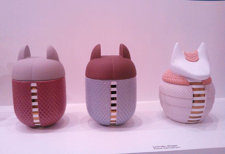 Loricato + Khepri by talented Italian designer Elena Salmistraro for Bosa Ceramiche - MDW 016