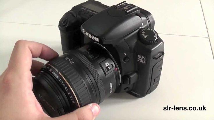 Canon Digital Camera Reviews | Canon EOS 20D Digital Camera Review - YouTube