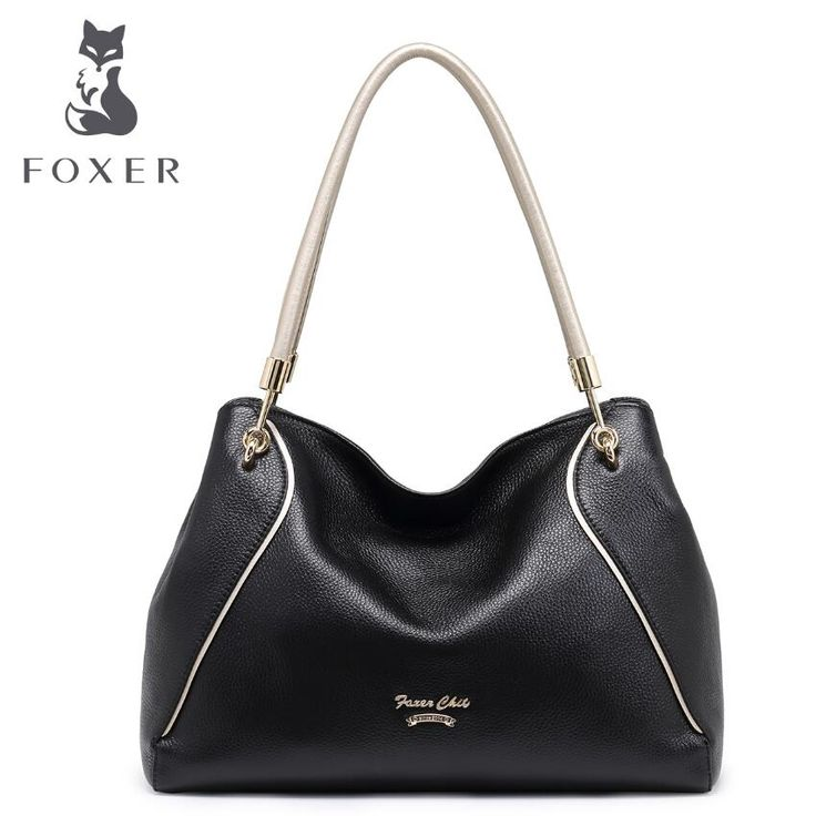 105.60$  Buy here - http://ali0i3.worldwells.pw/go.php?t=32779766028 - FOXER2017 new luxury fashion high-grade leather casual shoulder diagonal cross-leather bag brand-name products 100% high-quality 105.60$