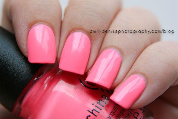 China Glaze – Neon & On & On ( three coats) #nail #nails #nailpolish
