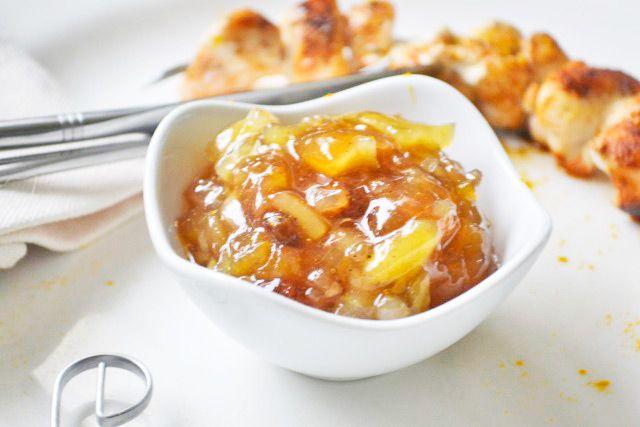 Das #Birnen-Zwiebel-Chutney passt gut zu kaltem Schweinebraten. Dieses Rezept ist ein Geheimtipp.