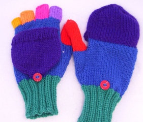 fingerless/mittens