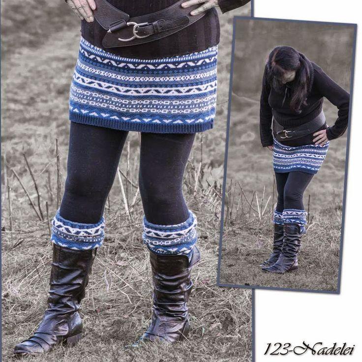 … das ist hier die Frage.    Heute zeige ich die Verwandlung eines Pullovers  zum Rock. Eine Freundin ohne Blog hat die Verwandlung vollzoge...