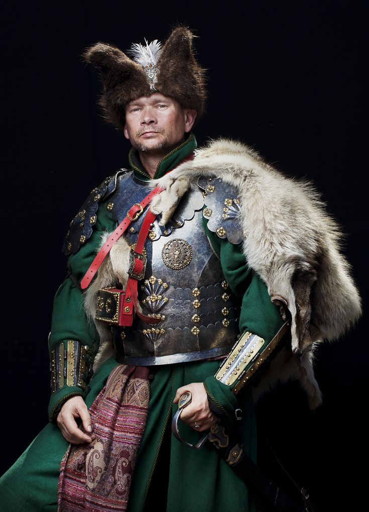 Polish Hussar, photographed by Andrzeja Wiktora