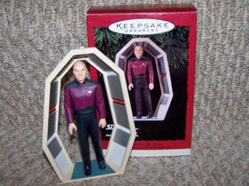 1995 Star Trek Next Generation Keepsake Christmas Ornament: CAPTAIN JEAN LUC PICARD @ niftywarehouse.com #NiftyWarehouse #StarTrek #Trekkie #Geek #Nerd #Products