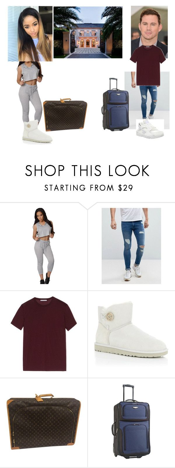 """""""☀kayla & channing☀going to the wedding house."""" by geazybxtch24 ❤ liked on Polyvore featuring interior, interiors, interior design, home, home decor, interior decorating, ASOS, Acne Studios, UGG Australia and Louis Vuitton"""