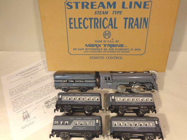 Marx Trains 10391 Nyc 20th Century Pass Set Boxed O Gauge X8816 Train Toy Train 20th Century
