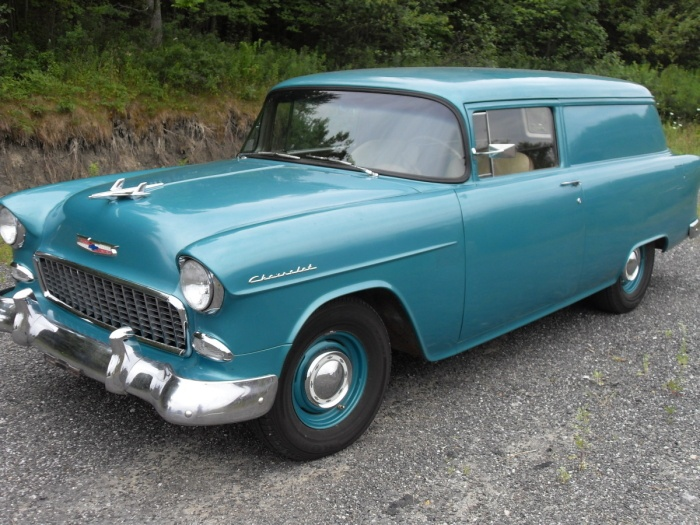 1955 Chevy Sedan Delivery. Cherry shape...