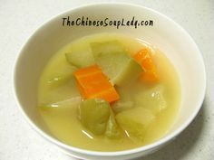 Soup Name:Chinese Radish with Carrots in Pork Broth  Traditional Chinese Name: 青紅蘿蔔湯 (qing hóng luóbo tāng) Introduction: This is a very common soup made in Chinese households. The combination ...