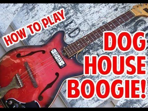 80 How To Play Seasick Steve Dog House Boogie Youtube