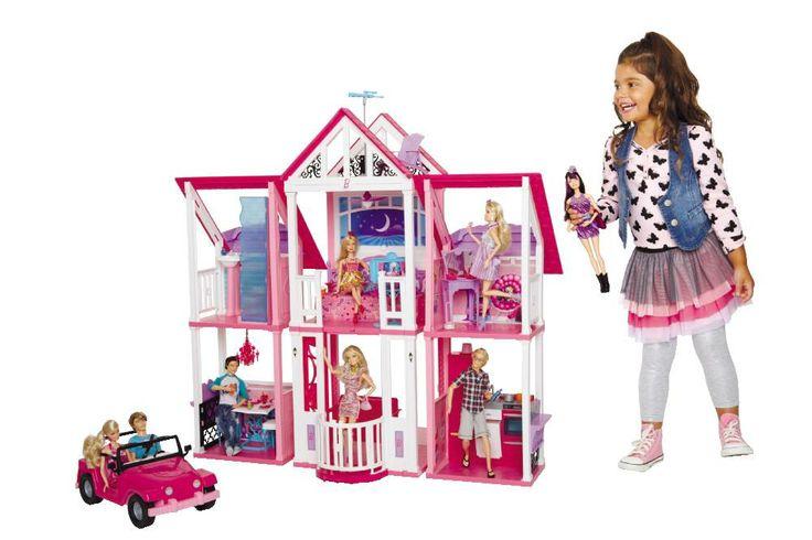 Barbie Dolls Hello Dreamhouse Dollhouse W Kitchen: 17 Best Images About Barbie On Pinterest