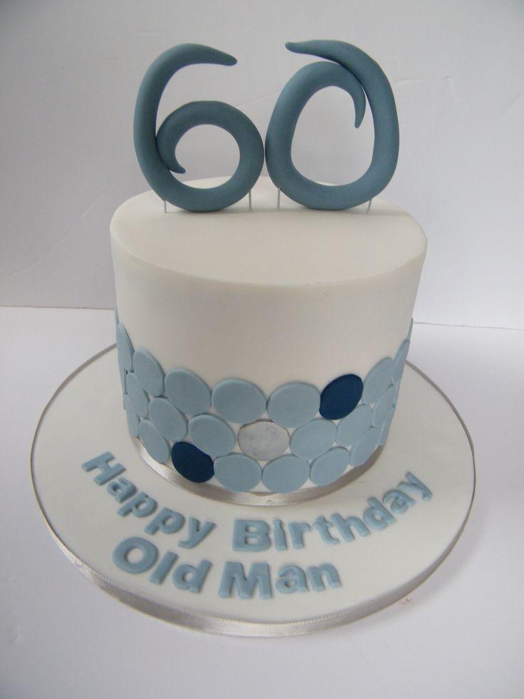 60th Birthday Cake Cakes Pinterest
