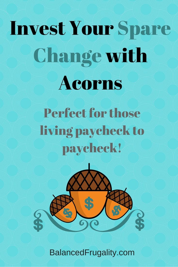 Investing With Acorns - Review and Guide - Balanced Frugality - http://www.balancedfrugality.com/2016/09/30/investing-with-acorns-review/