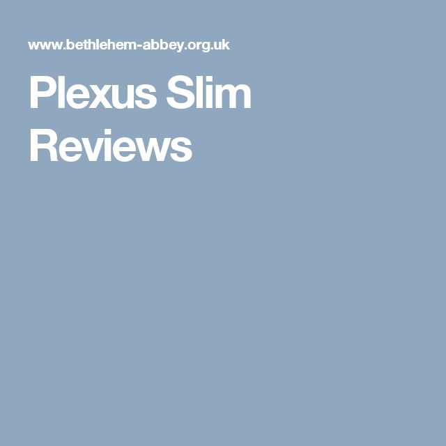 Plexus Slim Reviews