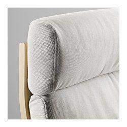 IKEA - POÄNG, Lenestol, Edum mørk blå, , Sjiktlimt og formbøyd bjørk gir behagelig fjæring.For ekstra avslappende sittekomfort kan du supplere med en POÄNG fotskammel.Den høye ryggen gir god støtte til nakken.10 års garanti. Les om vilkårene i garantiheftet.Trekket er enkelt å holde rent, det kan tas av og vaskes i maskin.