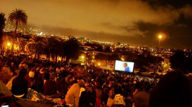 Four places to catch summer movies in the park in SF | Modern Luxury