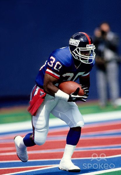 Pics of Dave Meggett from Sep 23, 1990. New York Giants running back Dave Meggett (30) against the Miami Dolphins at Giants Stadium.