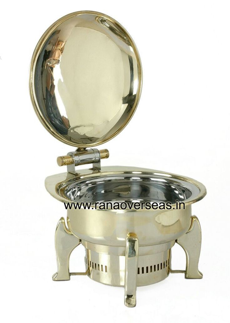Hydraulic Chafing Dish Rana Overseas offering an excellent quality range of Hydraulic Chafing Dish. These Hydraulic Chafing Dish are made from very high quality raw material which ensures high durability at its user end. These Hydraulic Chafing Dish are in high demand in the market, Our Hydraulic Chafing Dish are available at industrial leading prices.