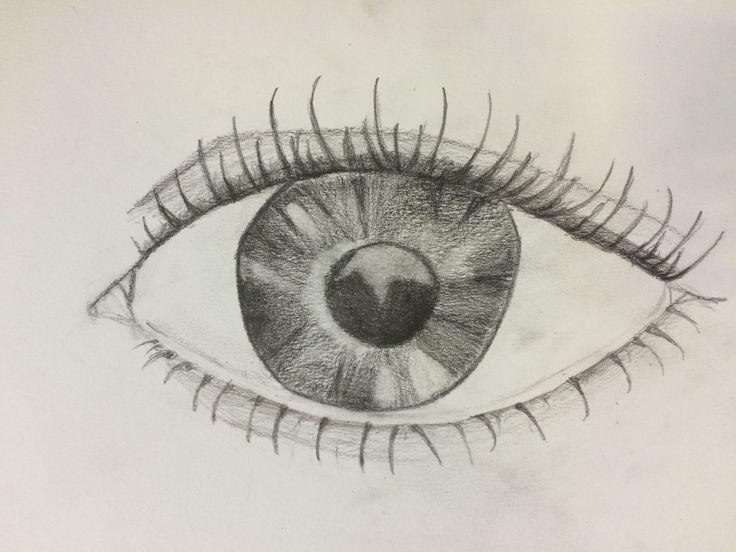 -week 2, tekening in het groot deze week heb ik het donkere bijgewerkt, de wimpers toegevoegd en het oog een beetje aangepast. ik vond het wel lastig om de wimpers te tekenen maar mevrouw Roos heeft me geholpen en is het goed gekomen! volgende week ga ik proberen de vorm van het andere oog tekenen, de hand en het potlood, maar als dat niet lukt heb ik daarna gelukkig nog een les