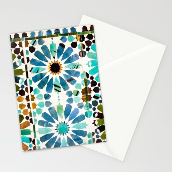 Set of folded stationery cards printed on bright white, smooth card stock to bring your personal artistic style to everyday correspondence.  Each card is blank on the inside and includes a soft white, European fold envelope for mailing. Shop it here! https://society6.com/product/alicatado-3-k7v_cards?curator=wellglow