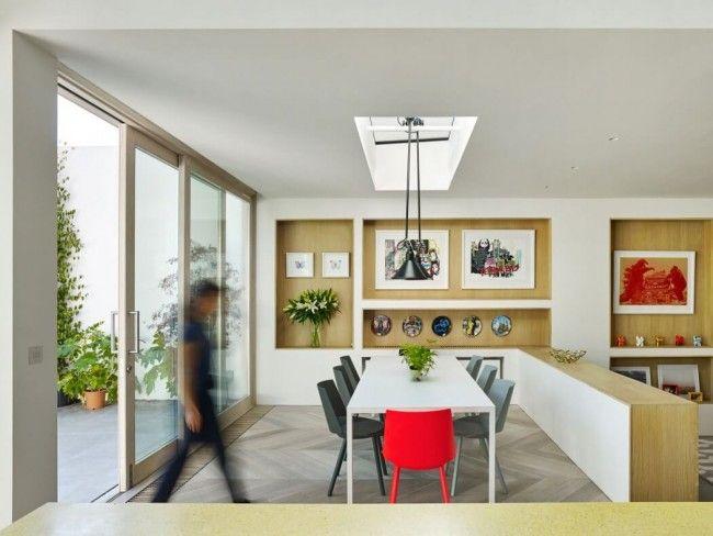 Traditioneel huis in Londen krijgt een opvallende moderne aanbouw - Roomed