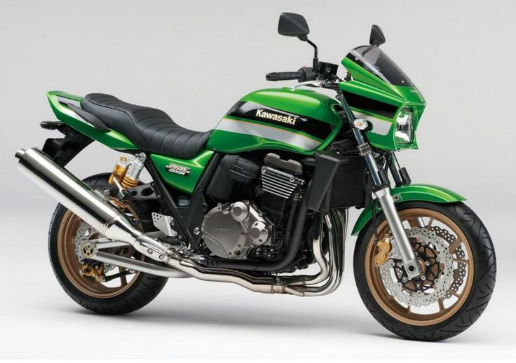 KAWASAKI Special edition models to commemorate the 40th anniversary [ZRX1200 DAEG] Z birth appeared
