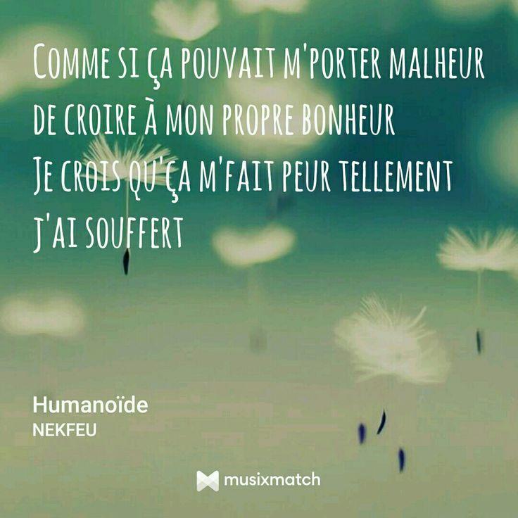 Humanoïde Nekfeu citation