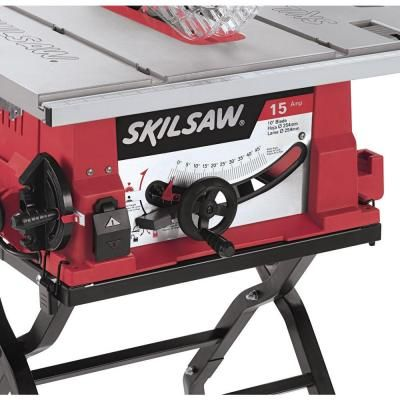 Skil 10 in table saw with folding stand 3410 02 for 10 skil table saw
