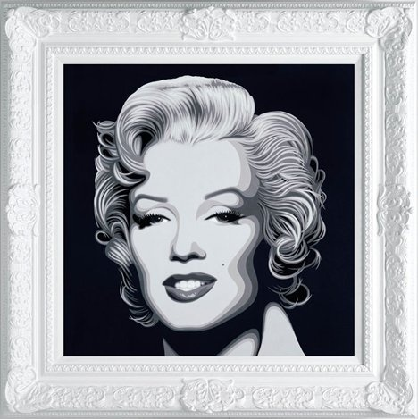 Marilyn by Simon Claridge Available from Westover Gallery £550