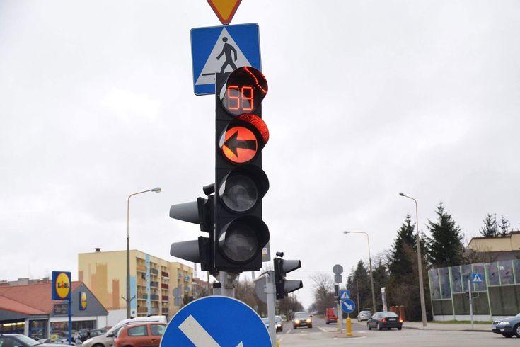 Nowe sekundniki na skrzyżowaniach w Skierniewicach