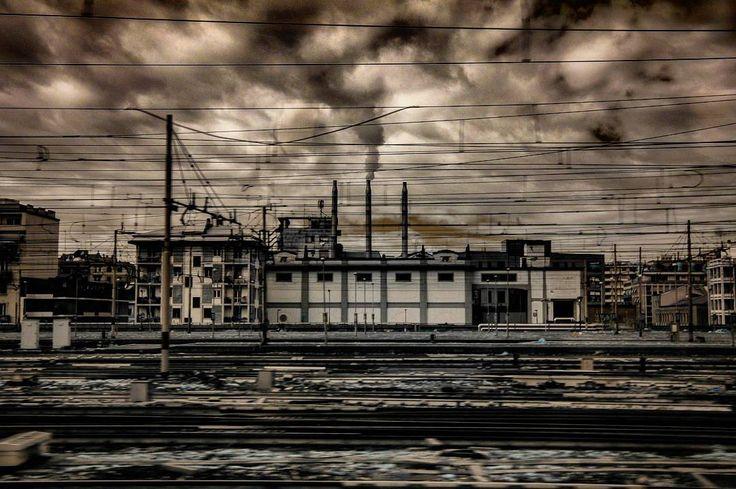 Milano #railwaystation #milano #infrared