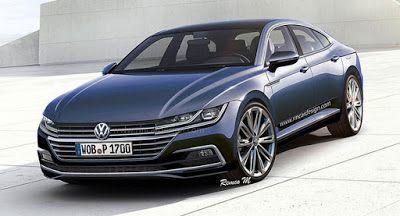 2018 Volkswagen CC Rendering ist Super scharf Renderings VW VW CC