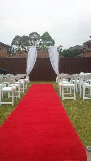 Backyard Wedding Ceremony Sydney