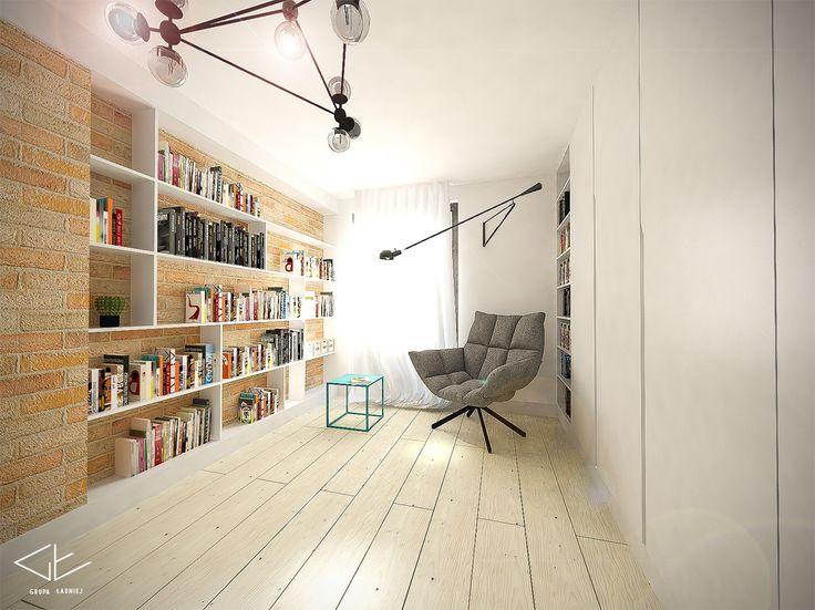 Dom Włochy - biblioteka / Grupa  Ładniej