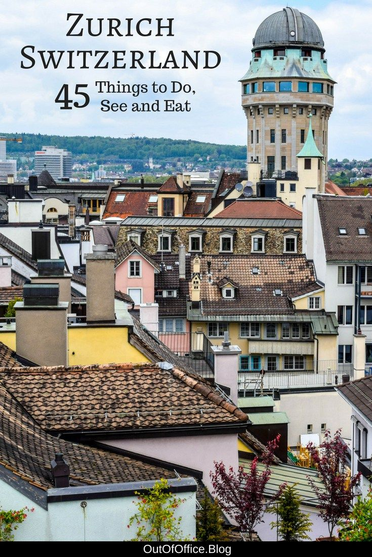 A turquoise lake, Swiss Alps, cobblestoned and shutter adorn Altstadt, art galleries, museums and chocolate; here are 45 things to do in Zürich Switzerland to plan the perfect itinerary. #Zurich #Switzerland #Travel