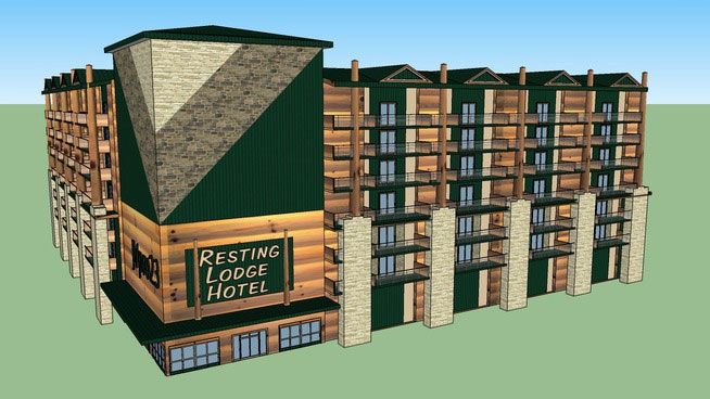 Free Download Sketchup Components 3d Warehouse Hotel