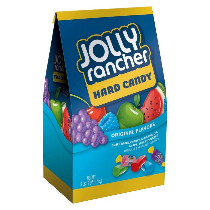 Jolly Rancher Hard Candy Original Flavors 3.75 lb