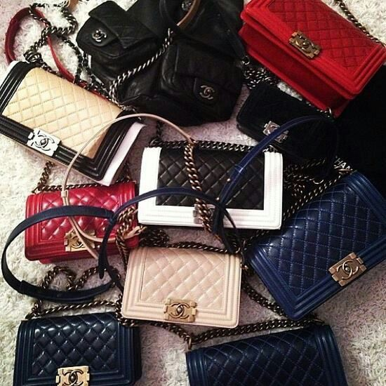 Chanel bags.  Fill a swimming pool and drop me in.
