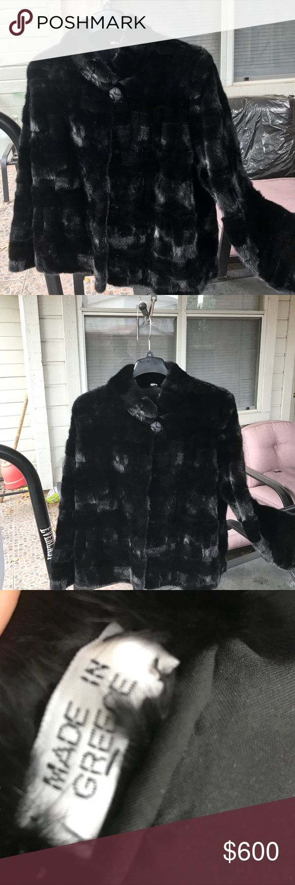 Women's Mink Jink Made In Greece Brand New ! Women's Mink Jacket Made In Greece Brand New Bought In Lord&Taylor M-L( Price Negotiable ) Lord & Taylor Tops