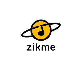 Create a logo for a free universal music database online : ZikMe by logtek