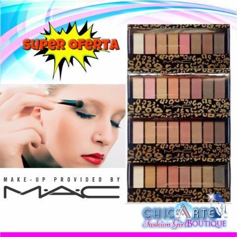 Paleta De Sombras Mate Mac 8 Tonos Maquillaje Ojos Oferta